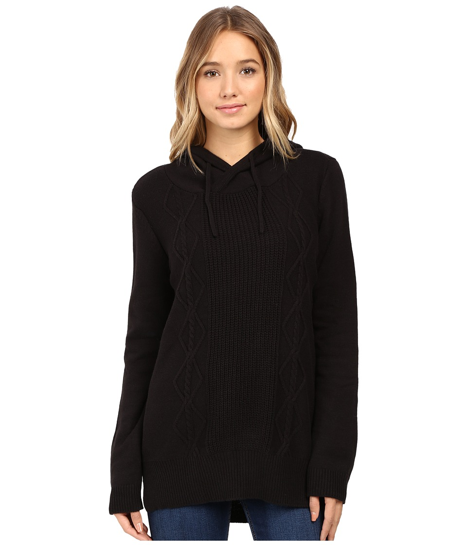 Hurley - Cody Pullover Sweater (Black) Women's Sweater