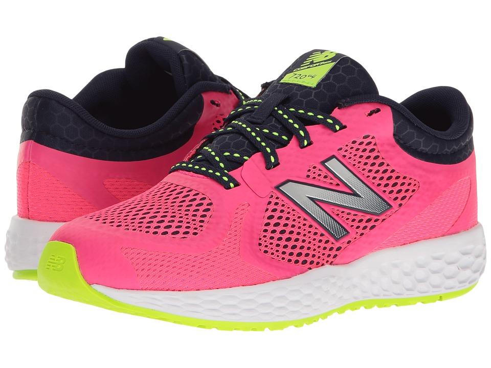 New Balance Kids KJ720v4 (Little Kid/Big Kid) (Pink/Navy) Girls Shoes