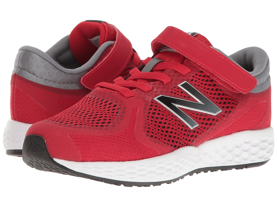 New Balance Kids - KV720v4 (Little Kid/Big Kid) (Red/Black) Boys Shoes