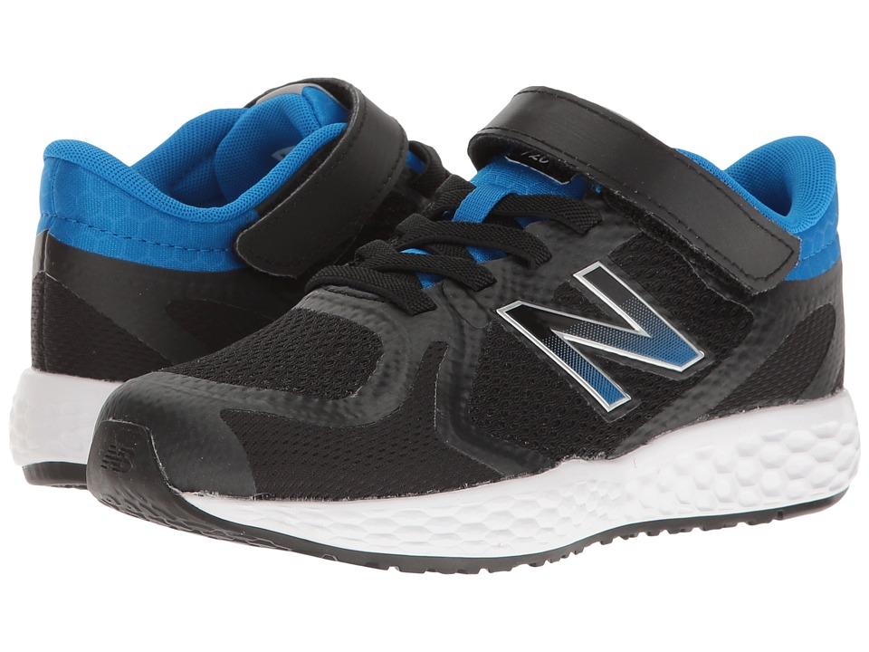 New Balance Kids KV720v4 (Little Kid/Big Kid) (Black/Blue) Boys Shoes