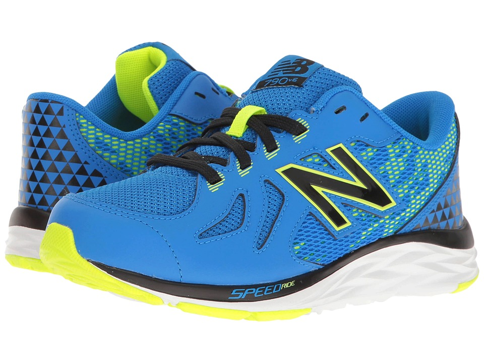 New Balance Kids - KJ790v6 (Little Kid/Big Kid) (Blue/Green) Boys Shoes