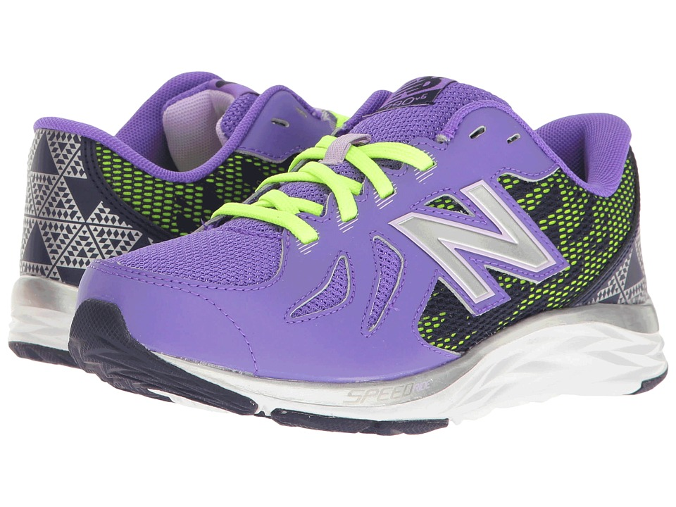 New Balance Kids - KJ790v6 (Little Kid/Big Kid) (Purple/Blue) Girls Shoes