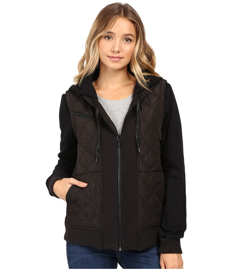 Hurley - Logan Jacket (Black) Women's Coat