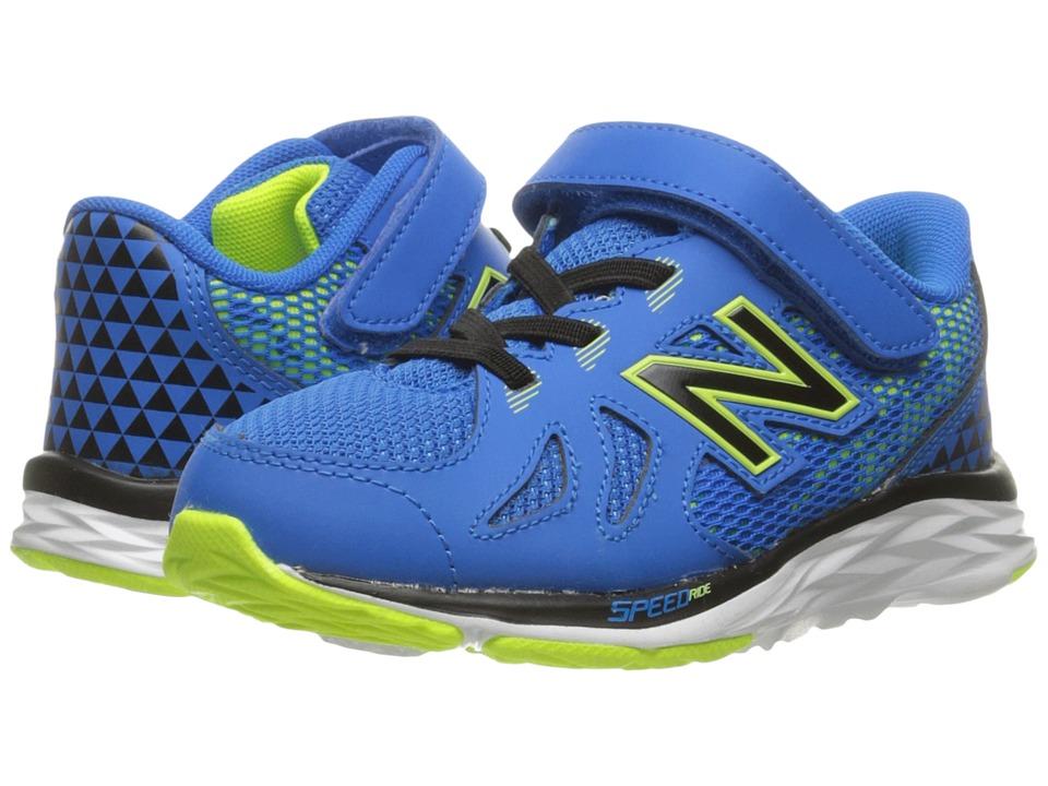 New Balance Kids - KV790v6 (Infant/Toddler) (Blue/Green) Boys Shoes