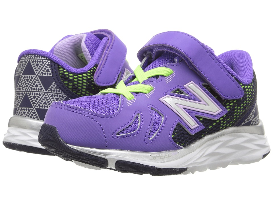 New Balance Kids - KV790v6 (Infant/Toddler) (Purple/Blue) Girls Shoes