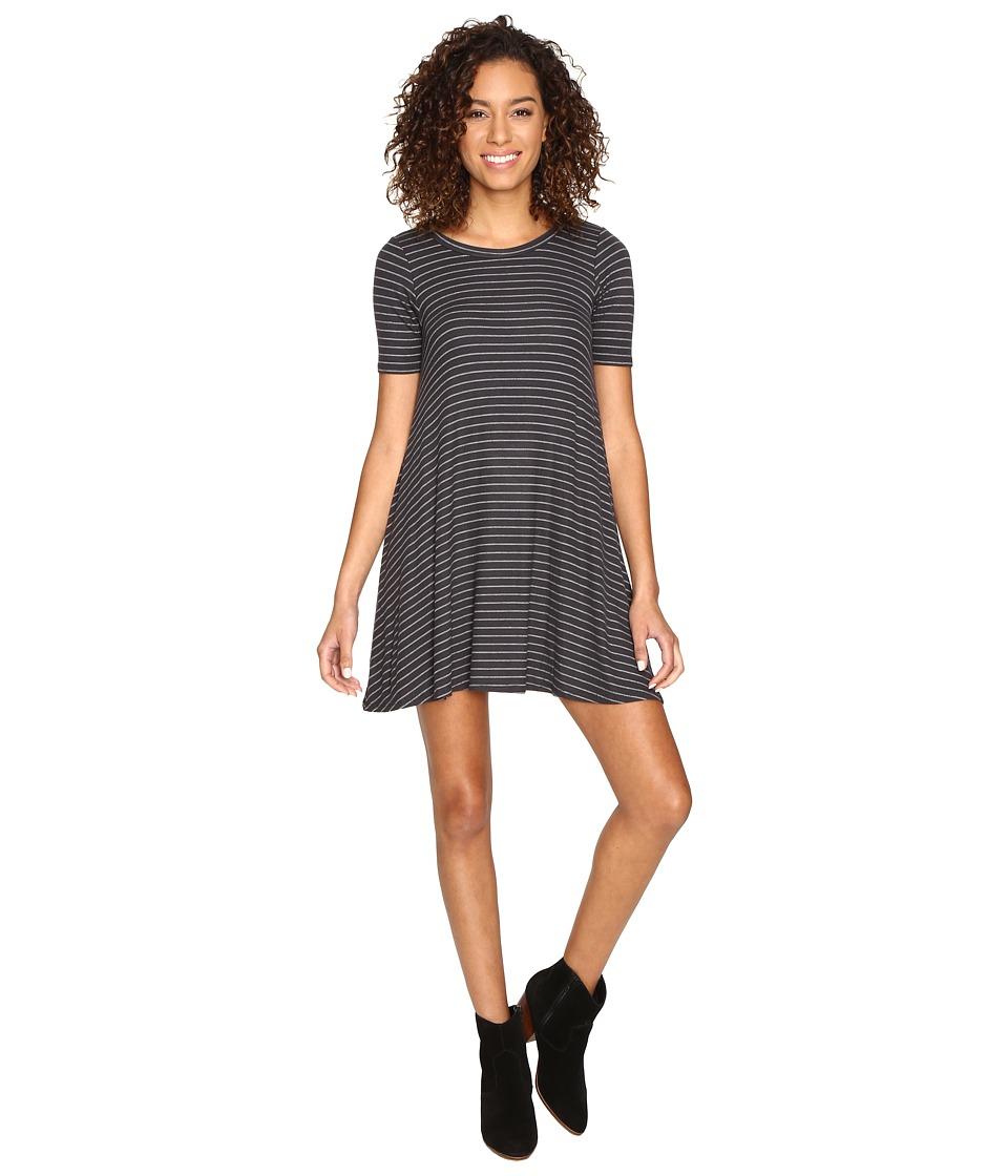 Billabong - Lost Heart Dress (Off-Black) Women's Dress