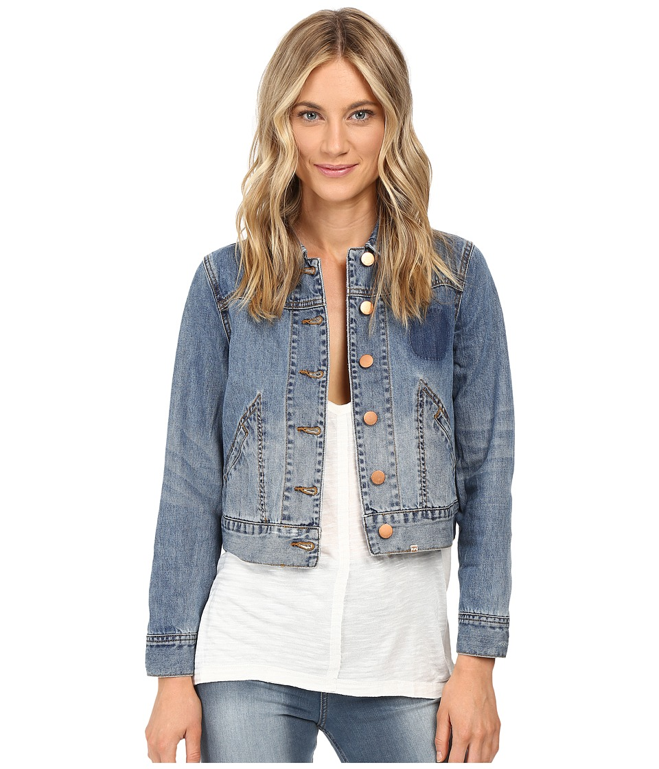 Billabong - Floral Crush Jacket (Vintage Indigo) Women's Jacket