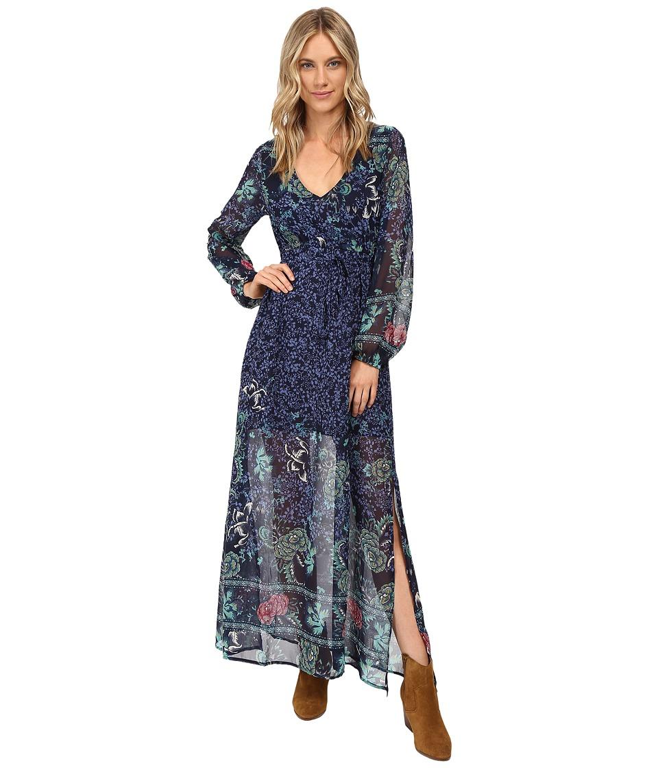 Billabong Dreaming Away Maxi Dress (Peacoat) Women