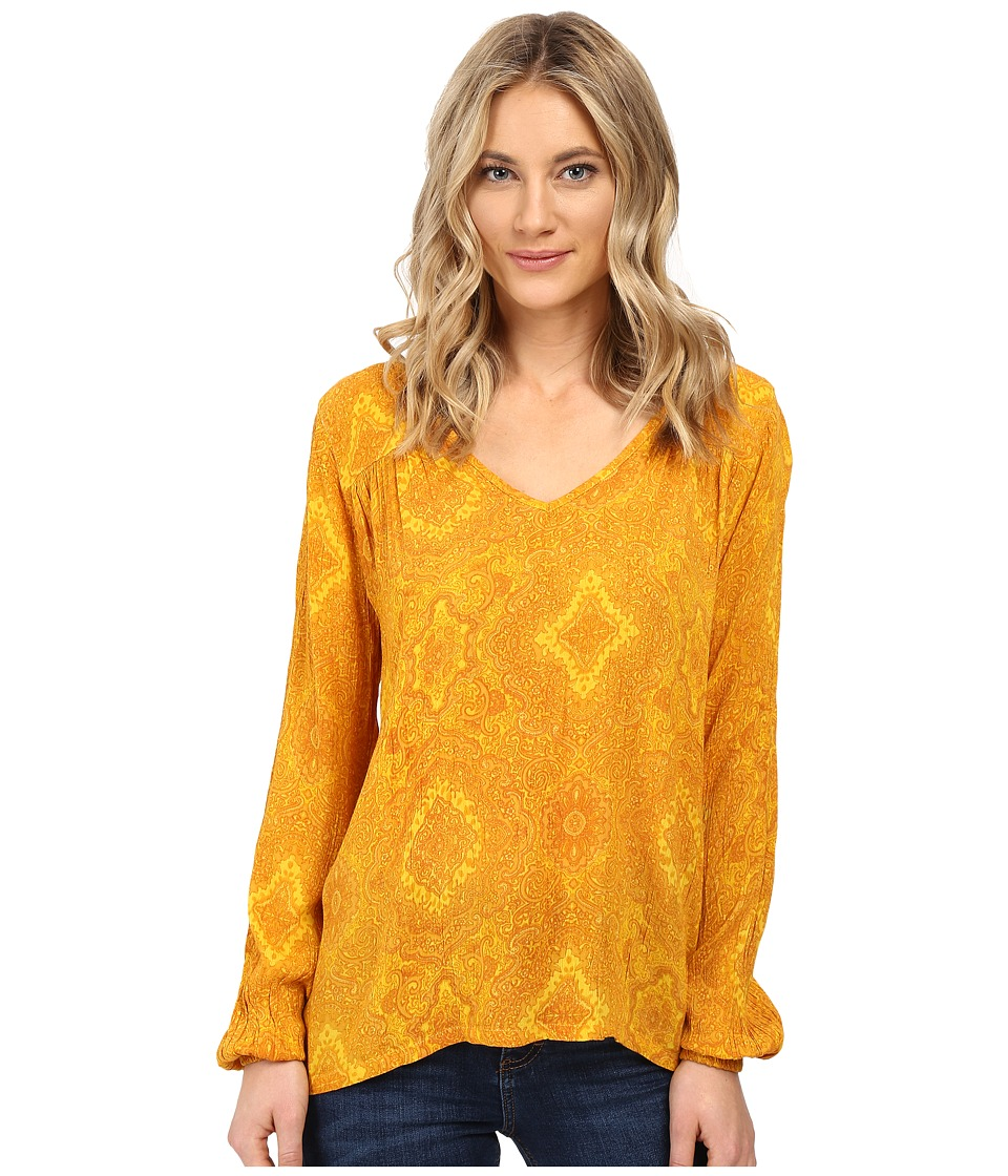 Billabong - Distant Roads Top (Vintage Gold) Women's Blouse