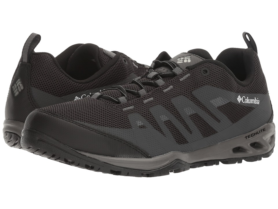 Columbia - Vapor Vent (Black/White) Men's Shoes