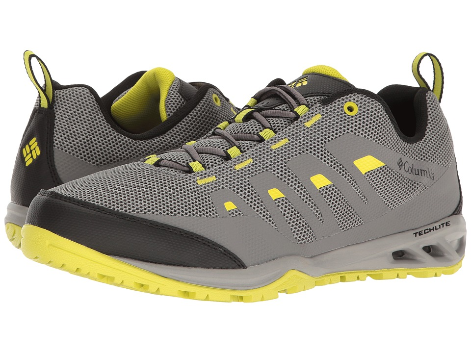 Columbia - Vapor Vent (Light Grey/Zour) Men's Shoes
