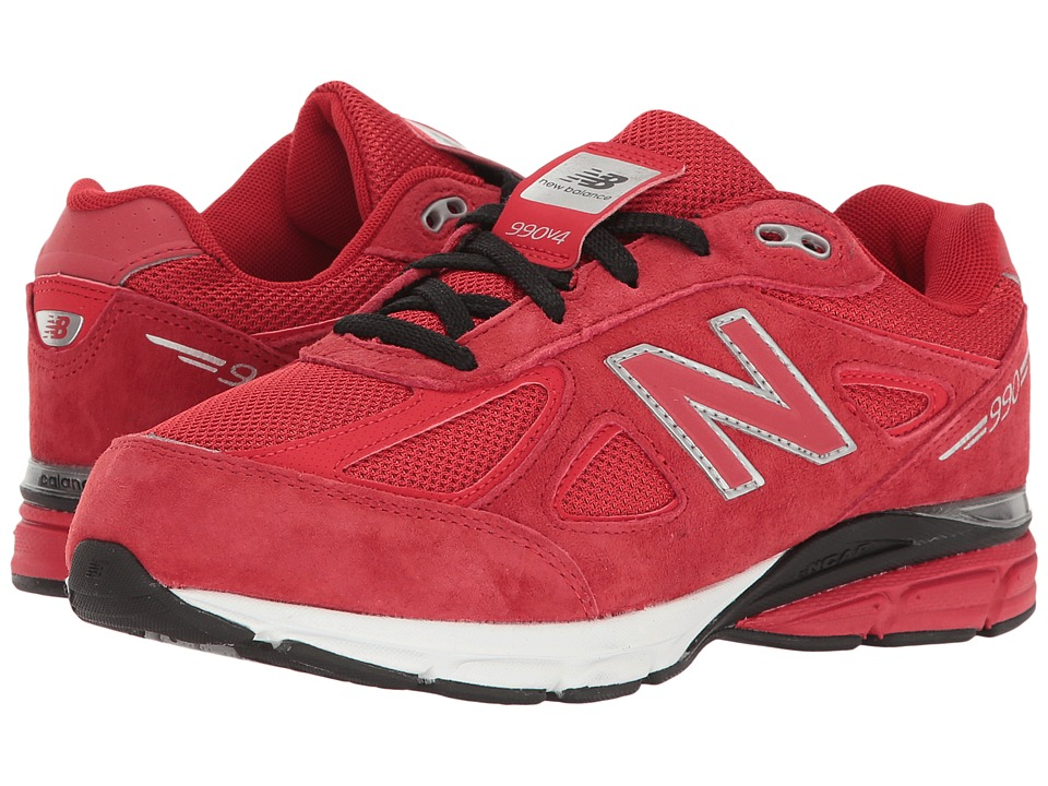 New Balance Kids - KJ990v4 (Big Kid) (Red/Red) Boys Shoes