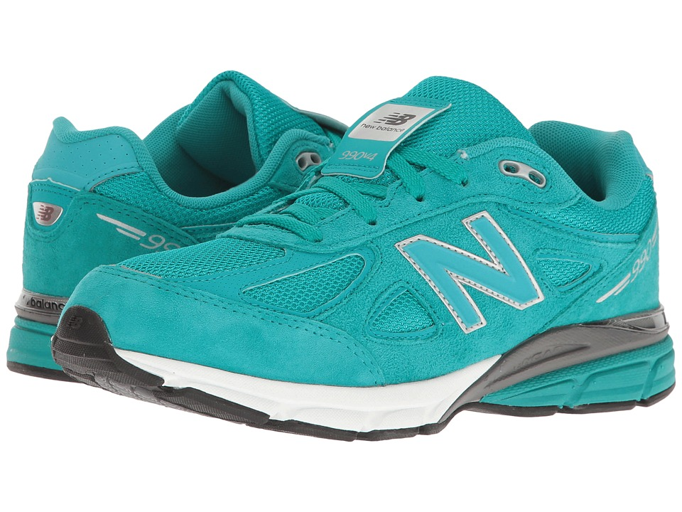 New Balance Kids - KJ990v4 (Big Kid) (Teal/Teal) Boys Shoes