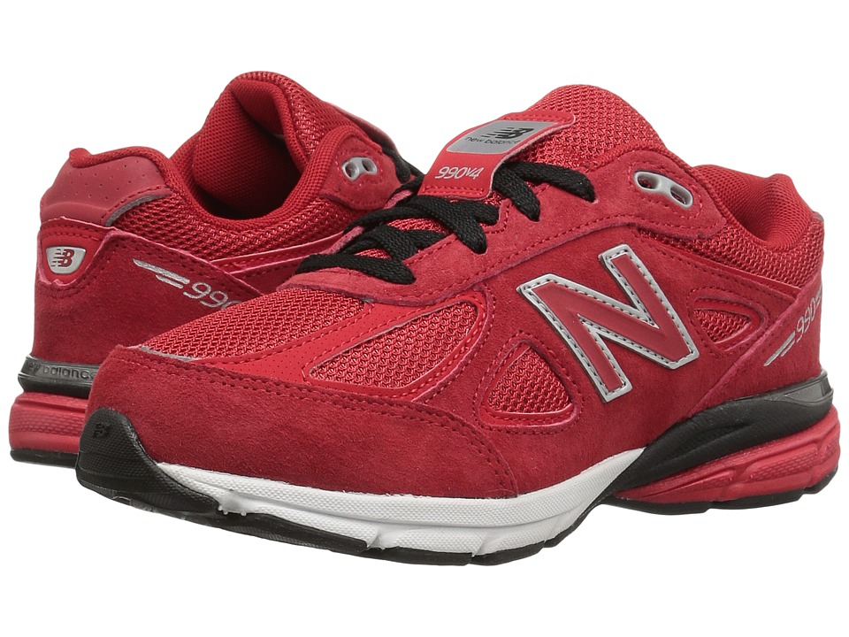 New Balance Kids - KJ990v4 (Little Kid) (Red/Red) Boys Shoes