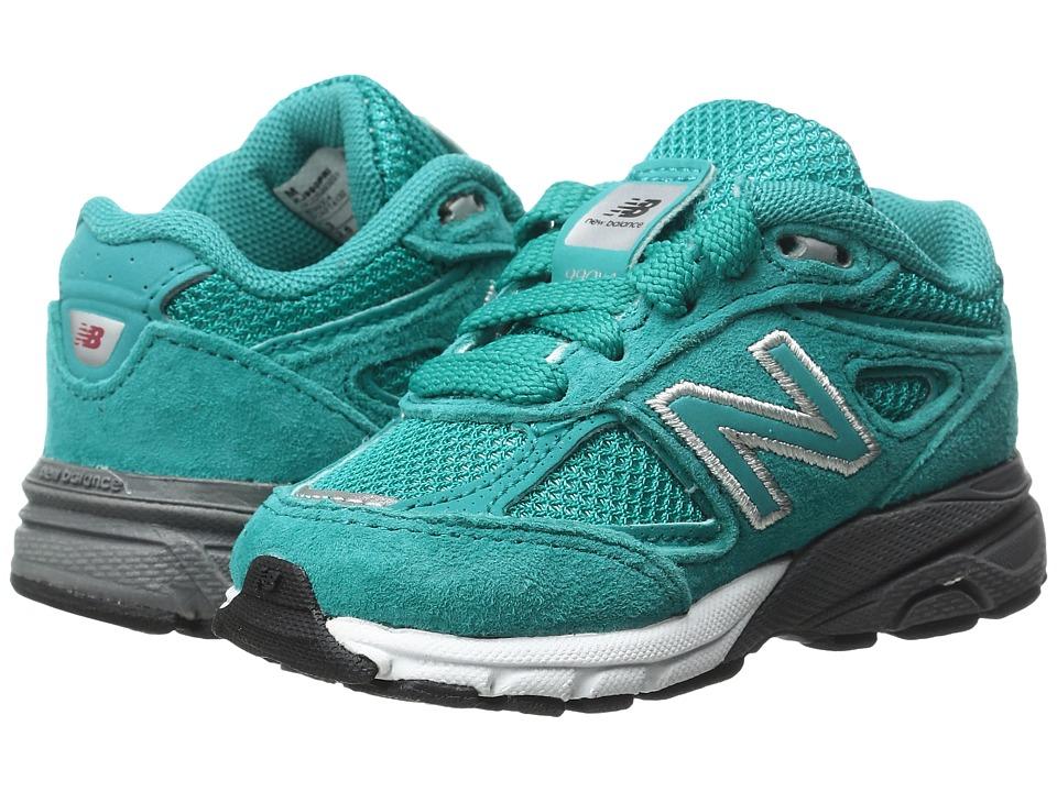 New Balance Kids KJ990v4 (Infant/Toddler) (Teal/Teal) Girls Shoes