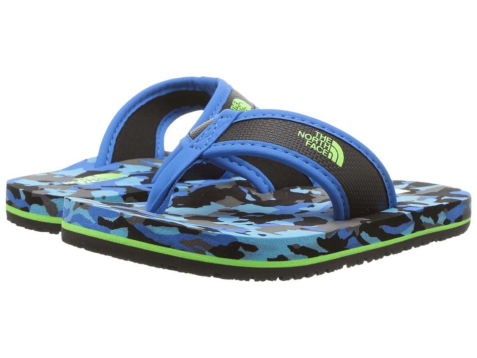 The North Face Kids Base Camp Flip-Flop (Toddler/Little Kid/Big Kid) (TNF Black/Brilliant Blue) Boys Shoes