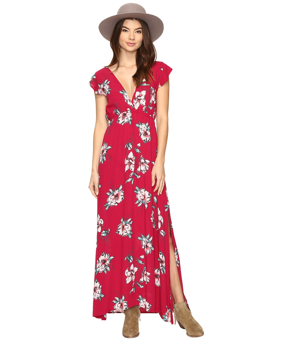 Billabong - Flutter in the Rain Dress (Cherry Lips) Women's Dress