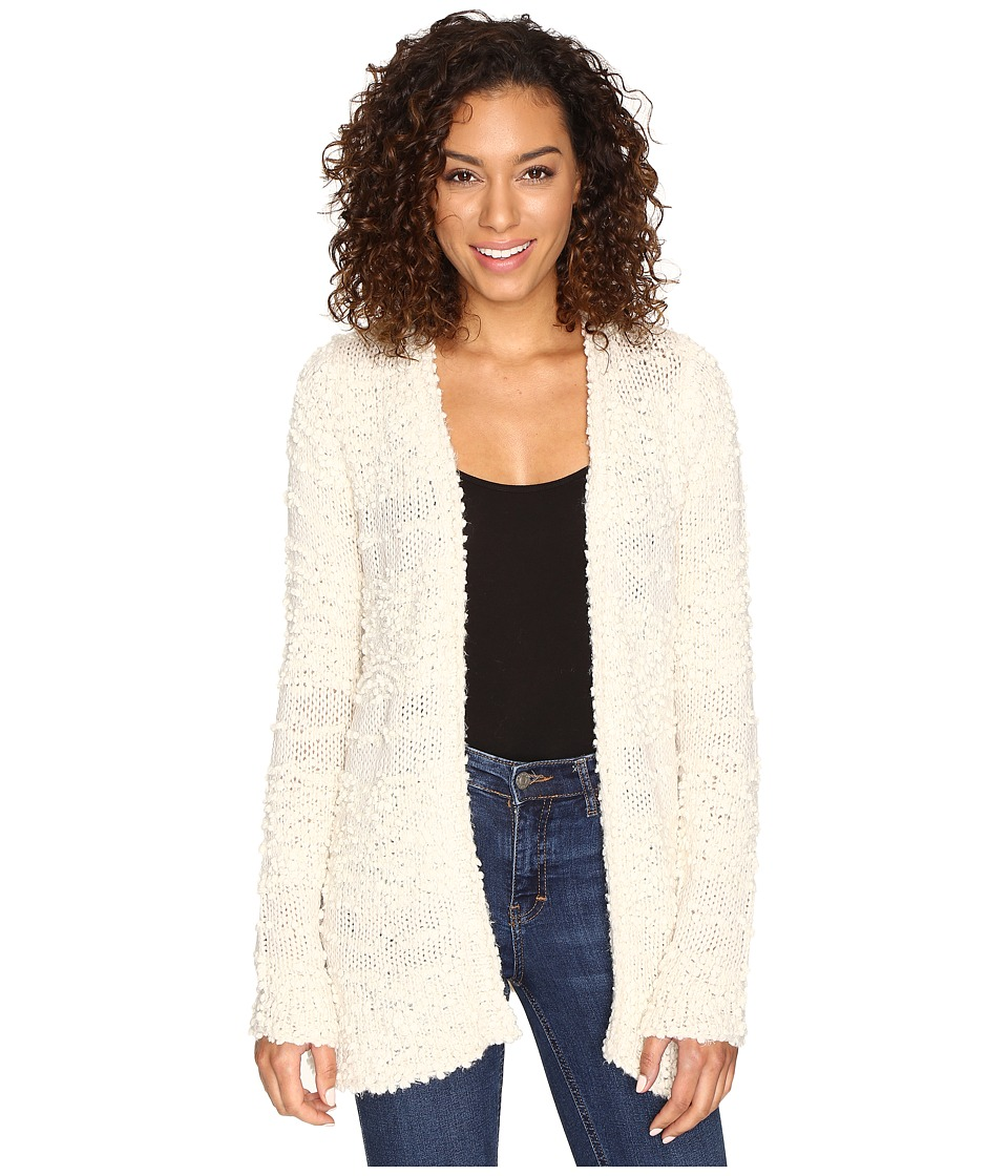 Billabong - All Fur You Cardigan (White Cap) Women's Sweater