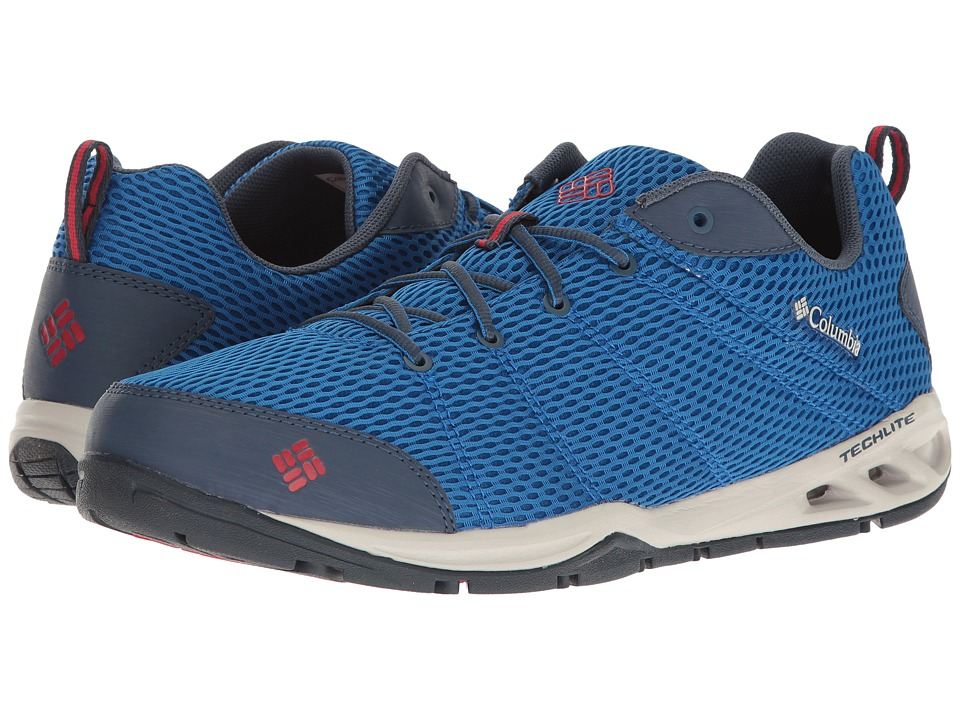 Columbia - Vent Fly (Super Blue/Shark) Men's Shoes