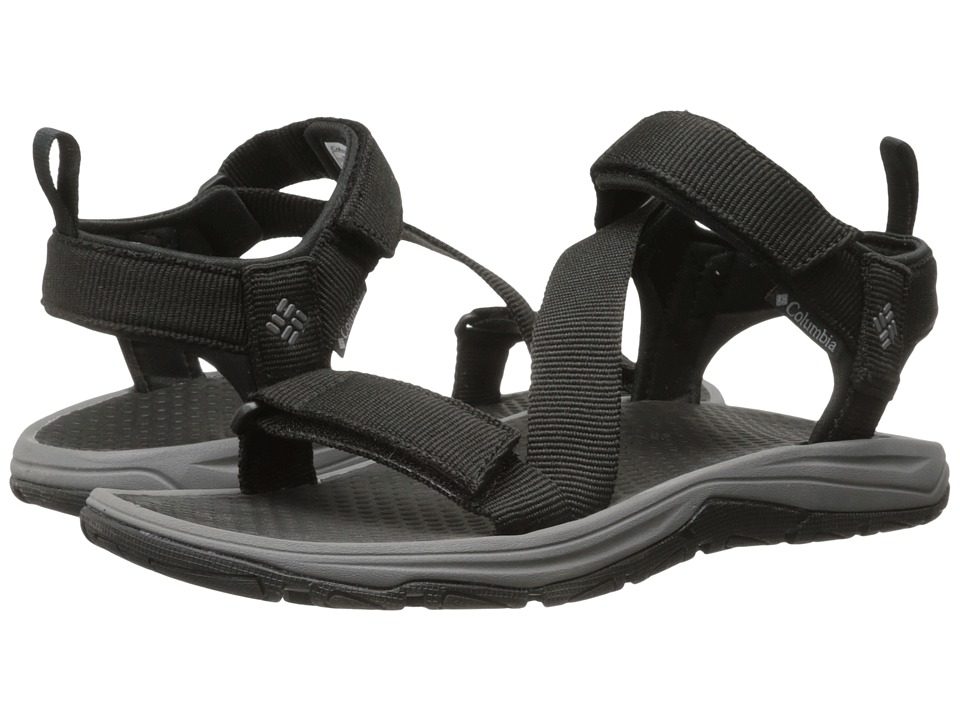 Columbia - Wave Train (Black/City Grey) Men's Sandals