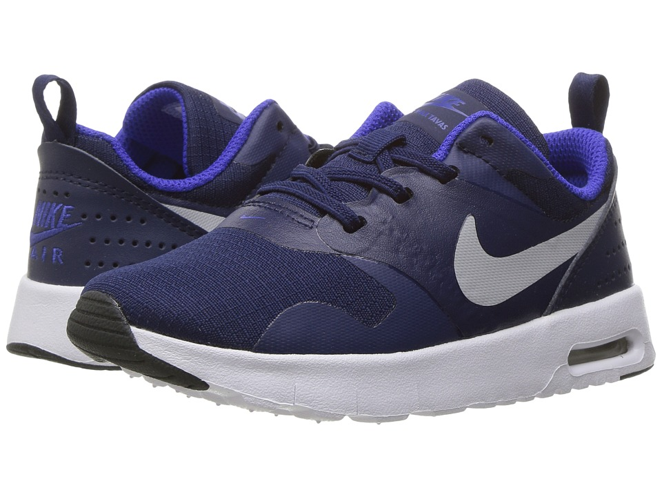 Nike Kids - Air Max Tavas (Infant/Toddler) (Binary Blue/Wolf Grey/Paramount Blue) Boys Shoes