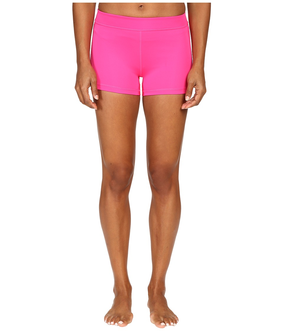 adidas - Techfit 3 Short Tights (Shock Pink/Pink Glow) Women's Casual Pants