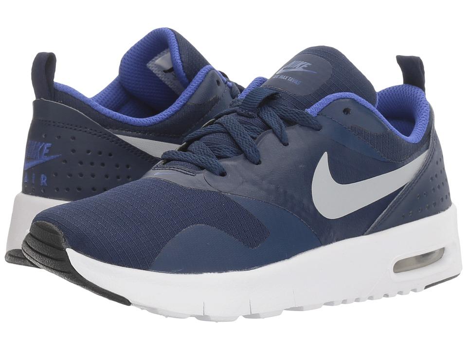 Nike Kids - Air Max Tavas (Little Kid) (Binary Blue/Wolf Grey/Paramount Blue) Boys Shoes