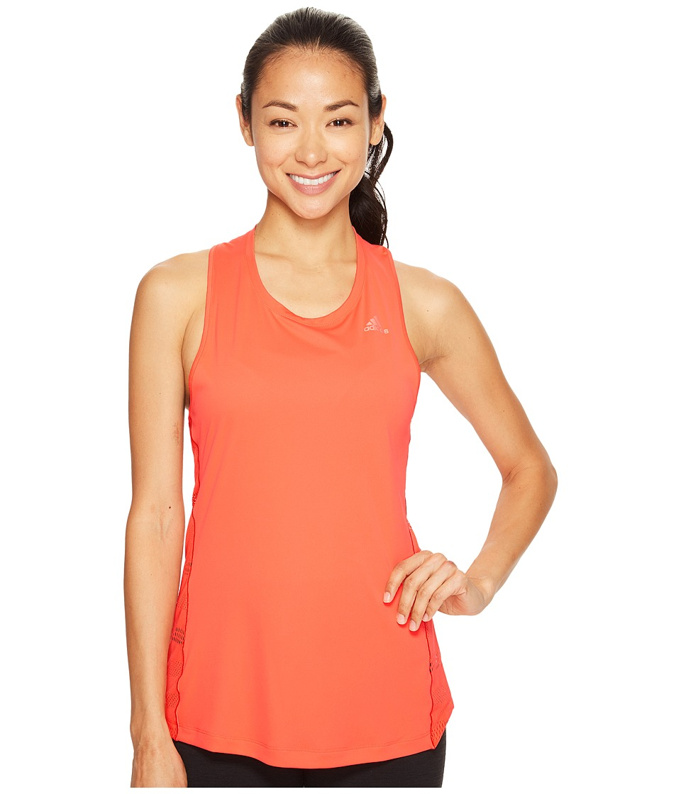 adidas - Tokyo Tank Top (Easy Coral S17) Women's Sleeveless