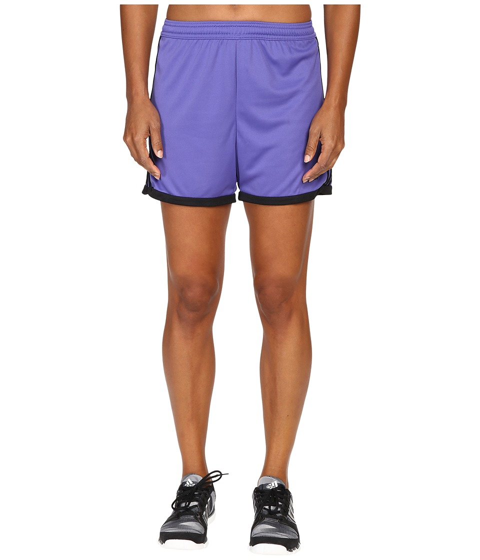 adidas - Tastigo 15 Knit Shorts (Purple/Black) Women's Shorts