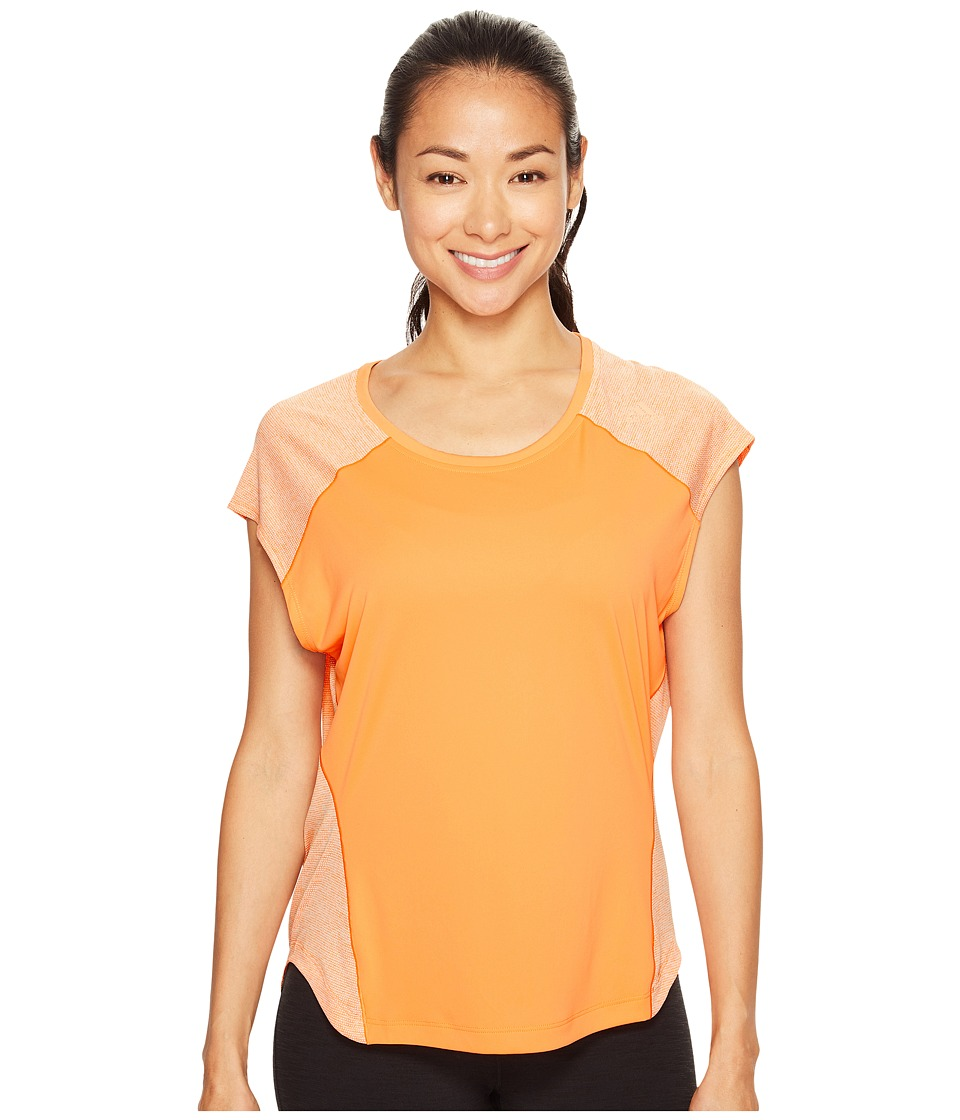 adidas - Tokyo Short Sleeve Tee (Easy Orange S17) Women's Short Sleeve Pullover