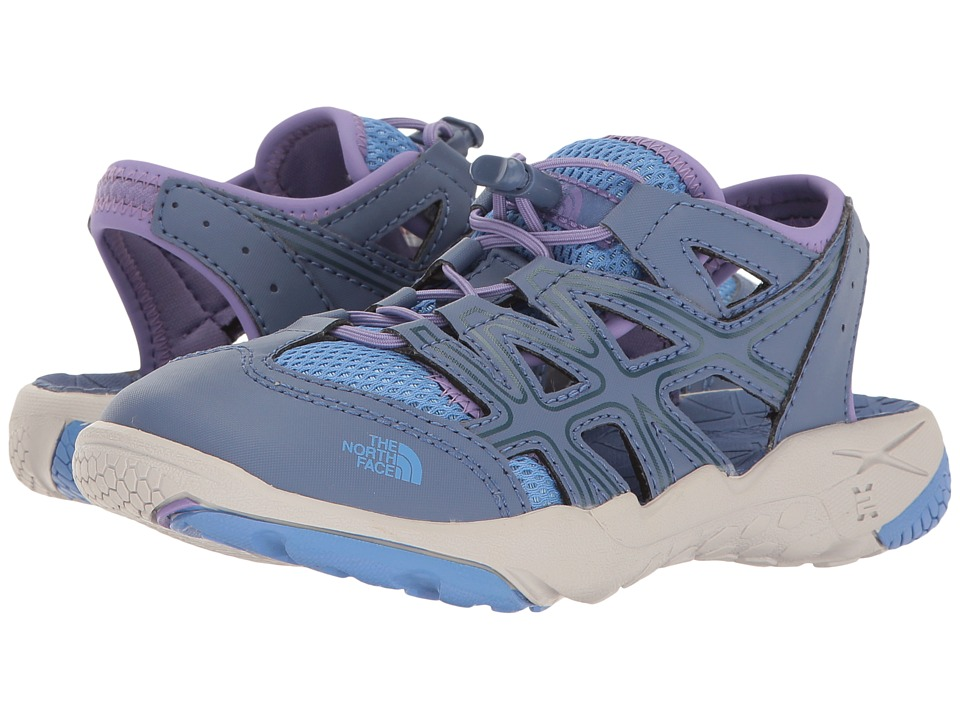 The North Face Kids - Hedgehog Sandal II (Toddler/Little Kid/Big Kid) (Coastal Fjord Blue/Provence Blue) Girls Shoes