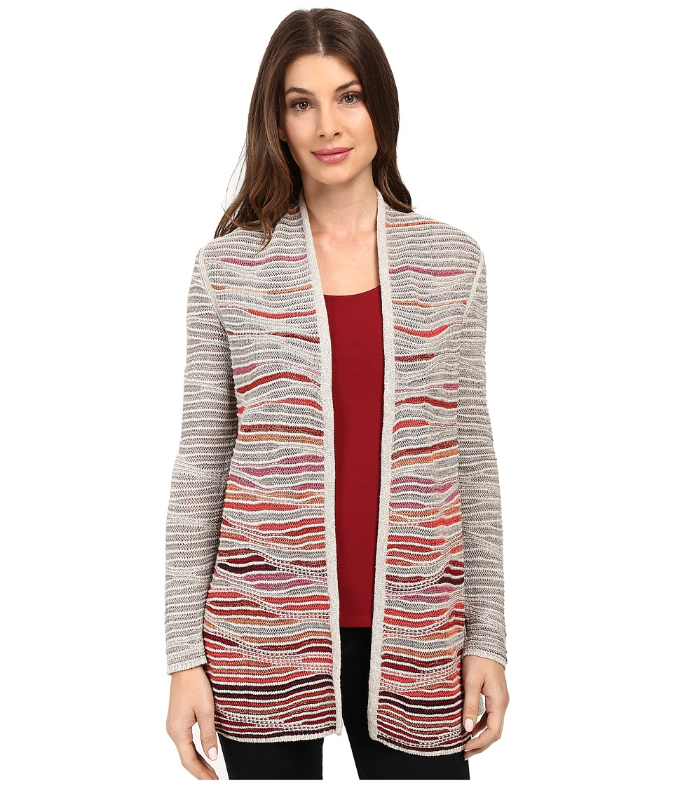 NIC+ZOE - Harvest Cardy (Multi) Women's Sweater