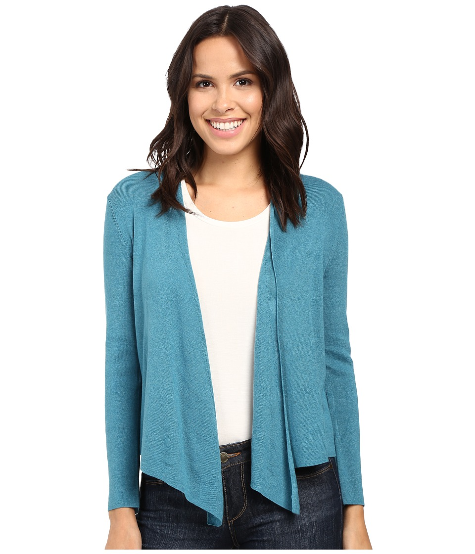 NIC+ZOE - 4-Way Cardy (Deep Sea) Women's Sweater