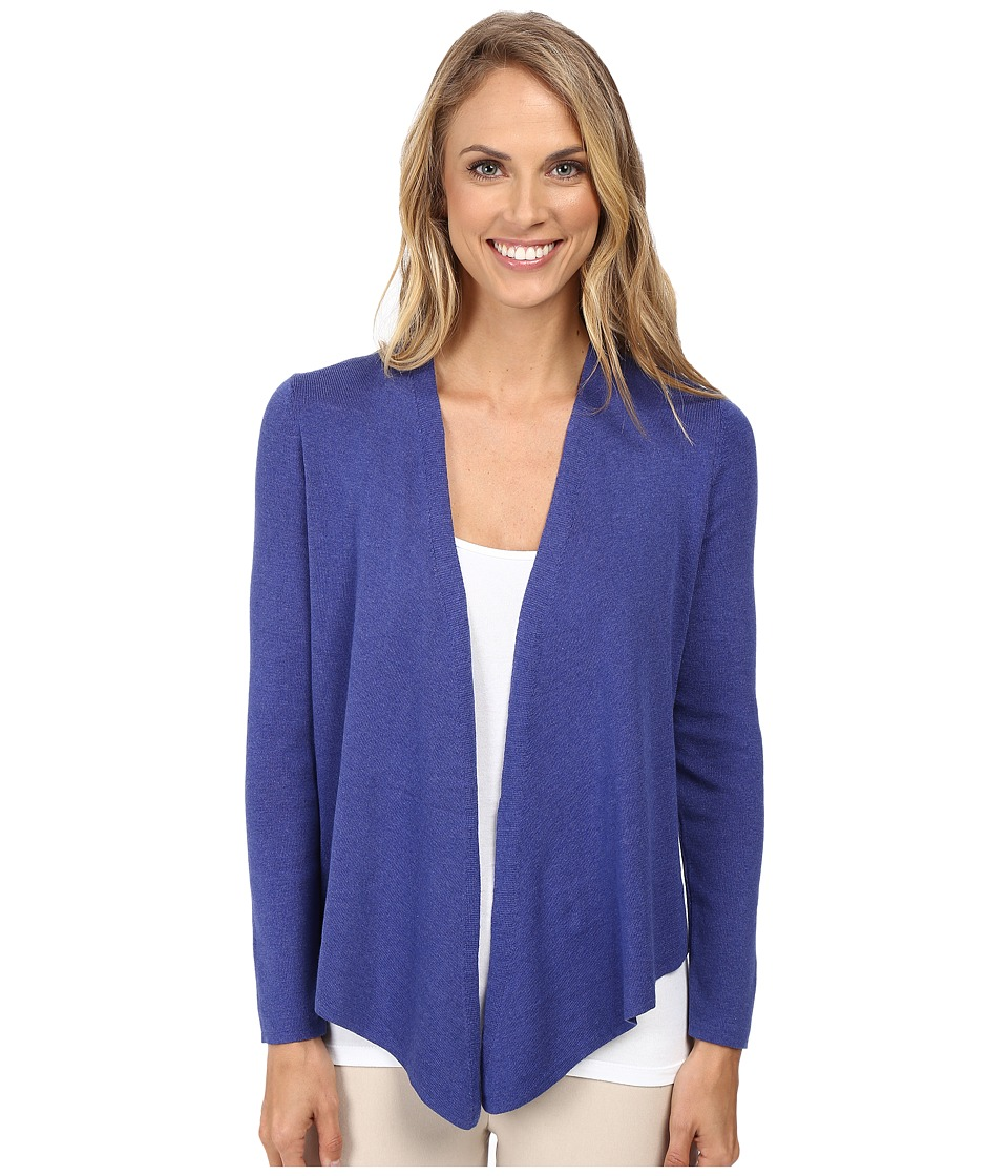 NIC+ZOE - 4-Way Cardy (Wild Blue) Women's Sweater