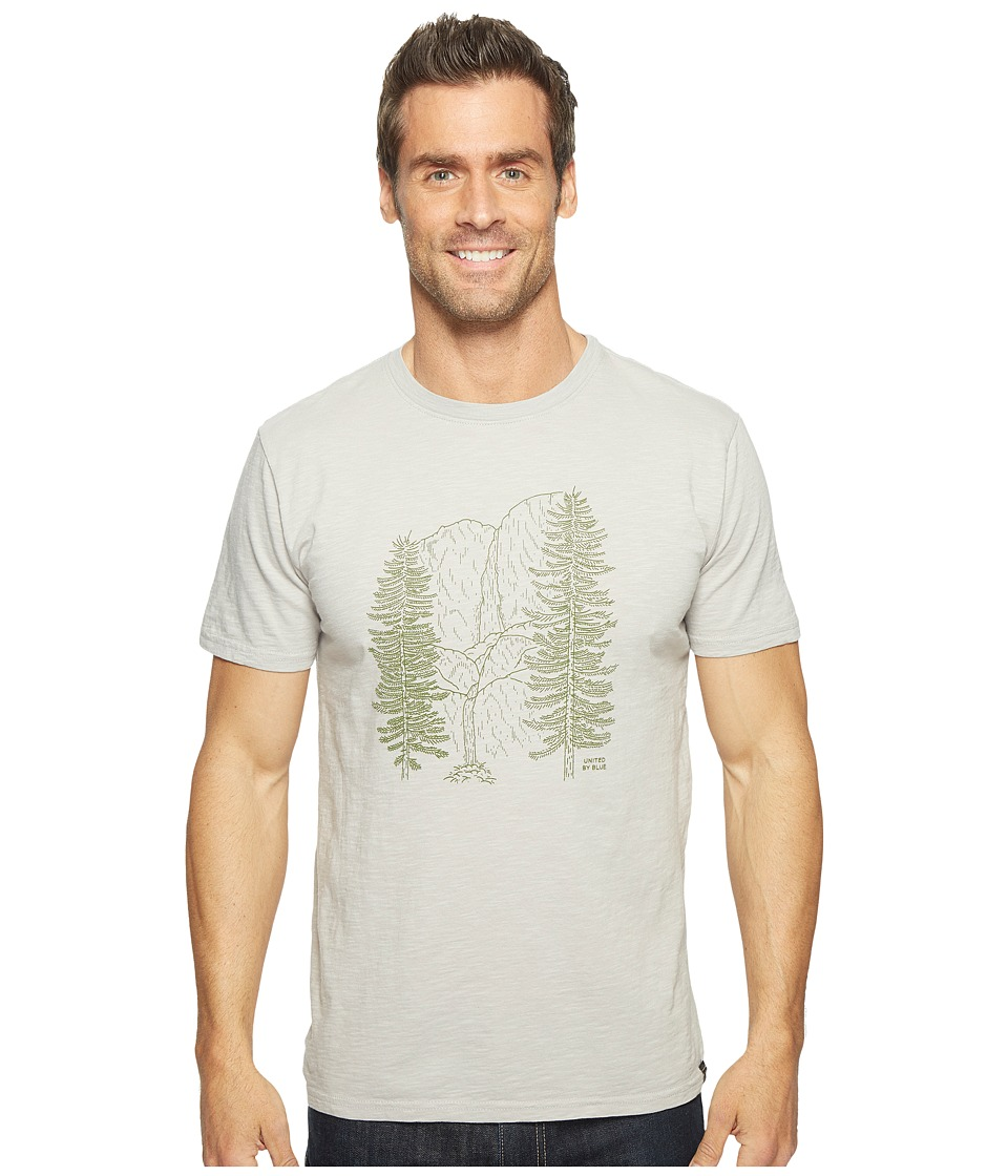 United By Blue - Waterfall (Grey) Men's Clothing