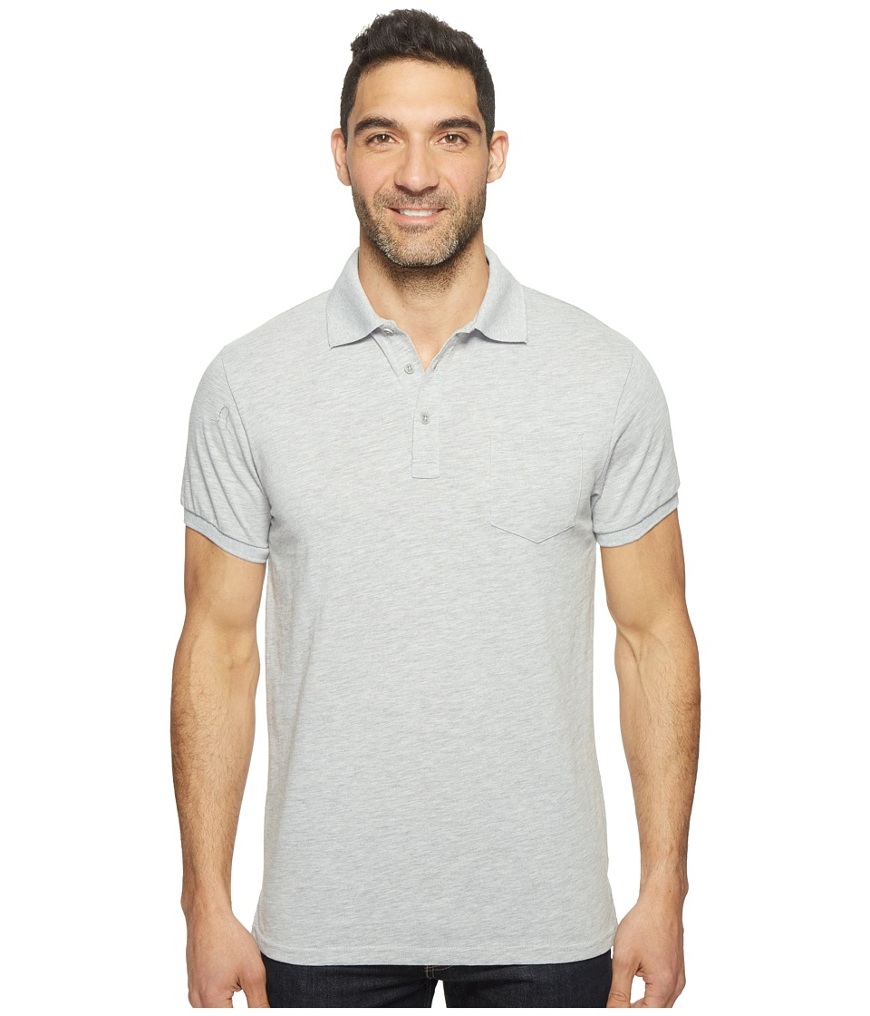 United By Blue - Hudson Polo (Grey) Men's Clothing
