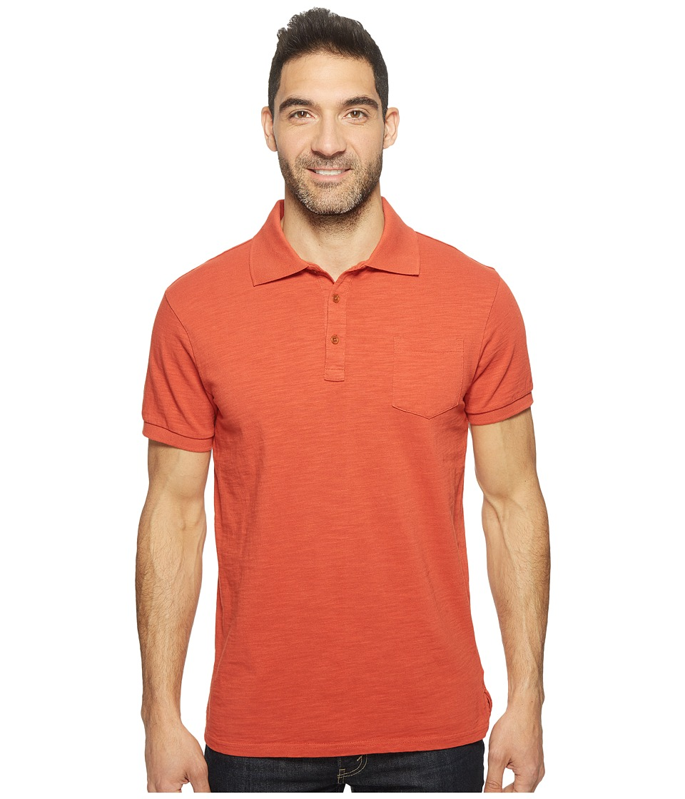 United By Blue - Hudson Polo (Oak) Men's Clothing