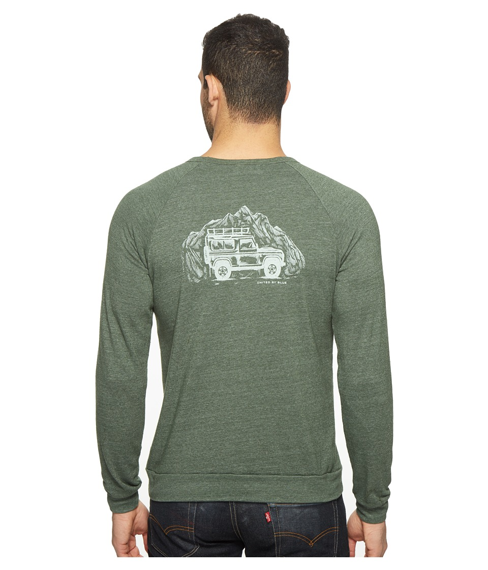 United By Blue - Adventure Mobile Pullover (Green) Men's Clothing