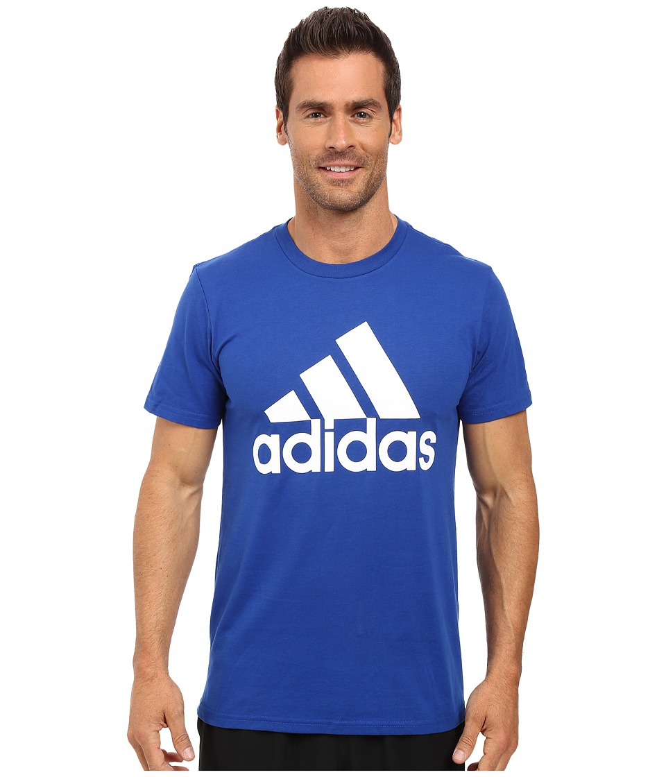 adidas - Badge of Sport Classic Tee (Collegiate Royal/White) Men
