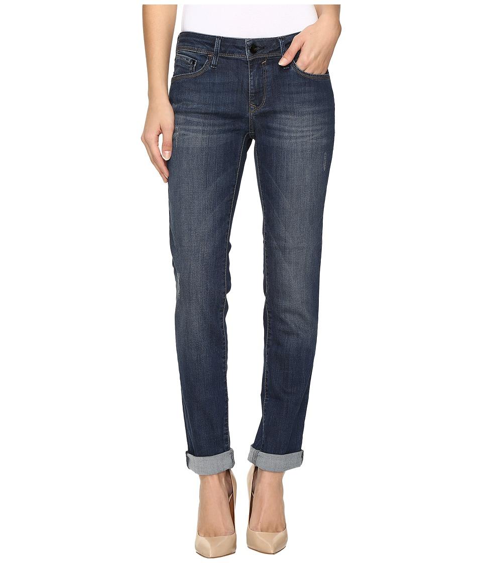 Mavi Jeans - Emma Slim Boyfriend in Deep Indigo Gold (Deep Indigo/Gold) Women's Jeans