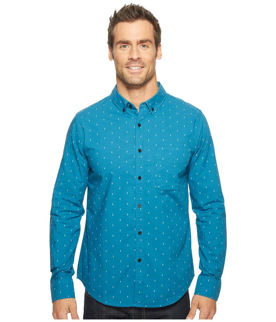 United By Blue - Long Sleeve Pine Grove Shirt (Blue) Men's Clothing