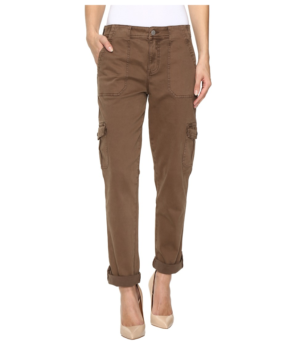 Level 99 Stacey Relaxed Cargo (Cocoa) Women