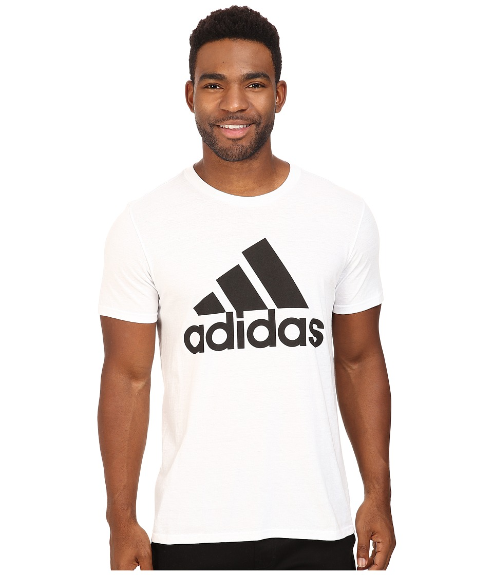 adidas - Badge of Sport Classic Tee (White/Black) Men's T Shirt