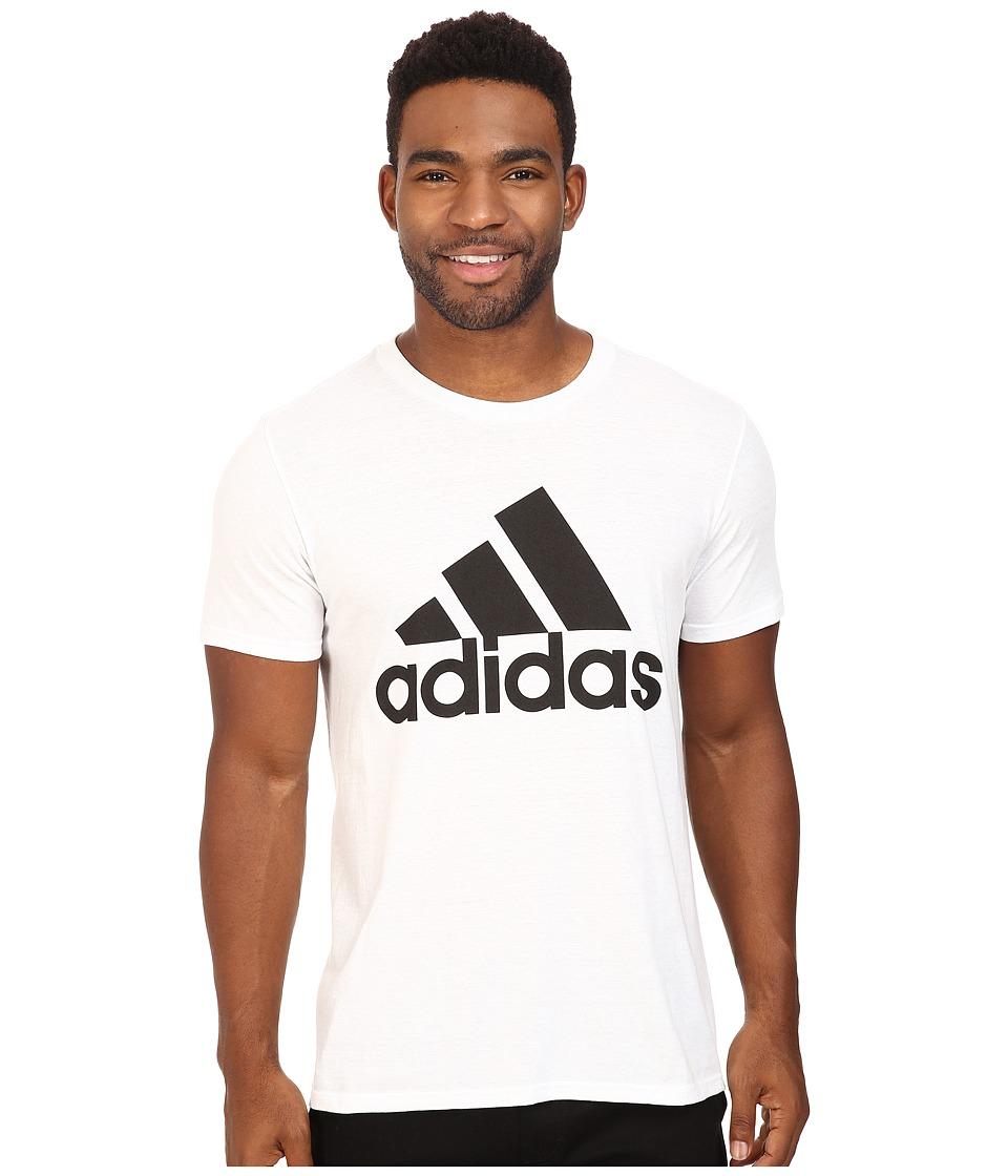 adidas - Badge of Sport Classic Tee (White/Black) Men's T Shirt