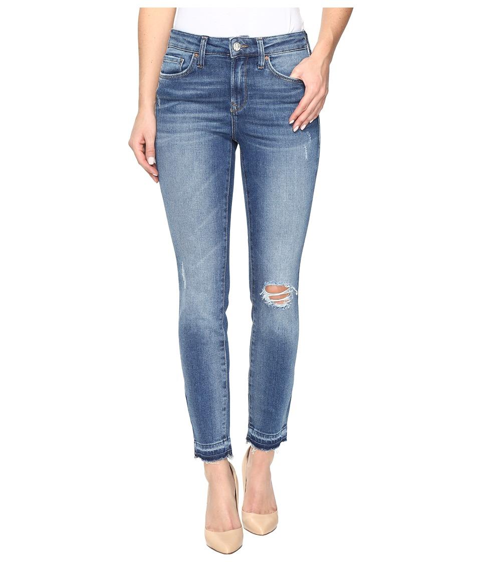 Mavi Jeans Alissa Ankle High-Rise Skinny Ankle in Dark Indigo 90s (Dark Indigo 90s) Women