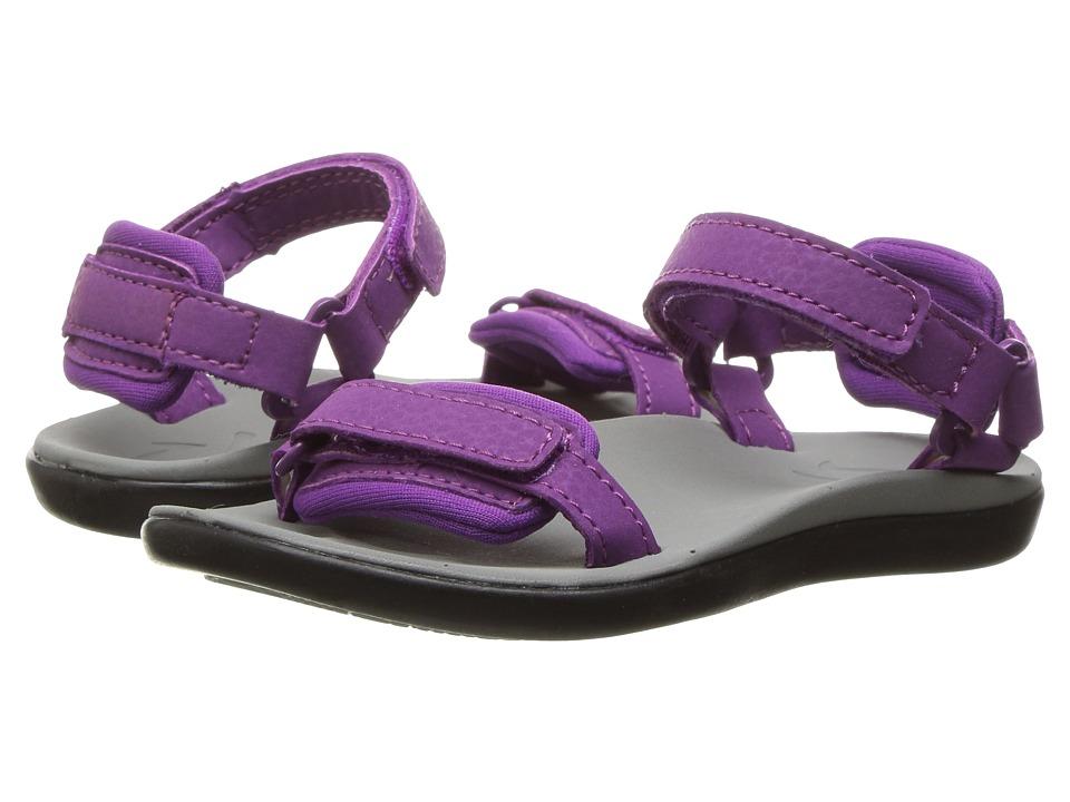 OluKai Kids - Luana (Toddler/Little Kid/Big Kid) (Dahlia/Pale Grey) Girls Shoes