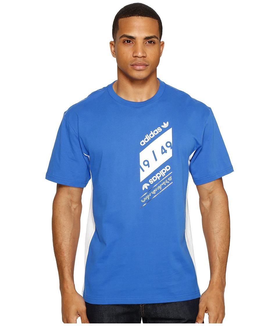 adidas Originals - Art Of Mesh (Blue) Men's T Shirt