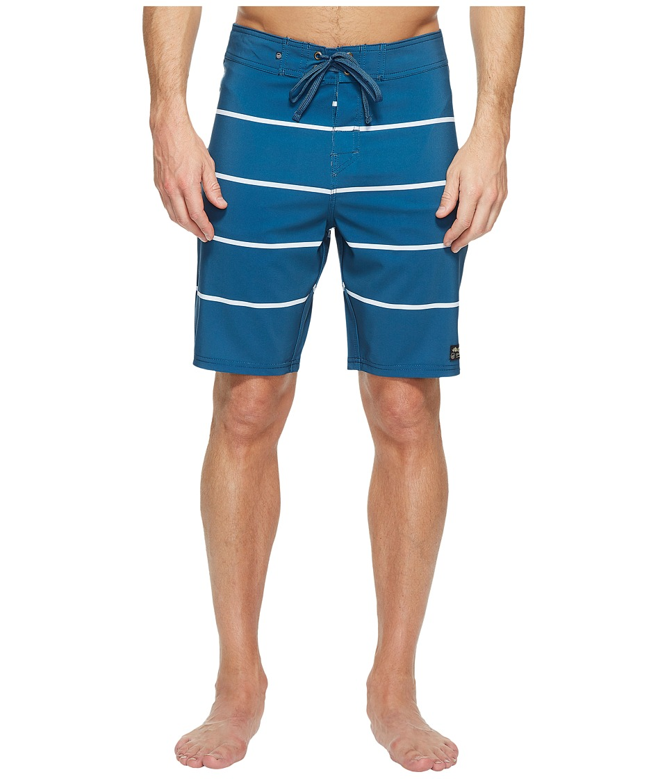 United By Blue - Reach Boardshorts (Blue) Men's Swimwear