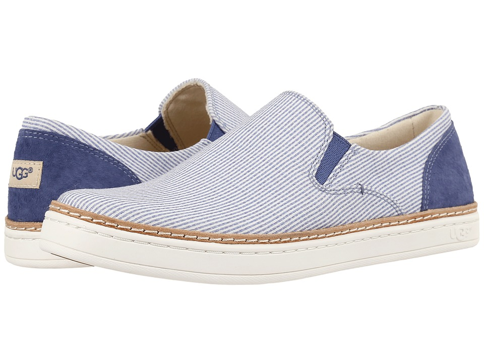 UGG - Adley Stripe (Moonstone) Women's Flat Shoes