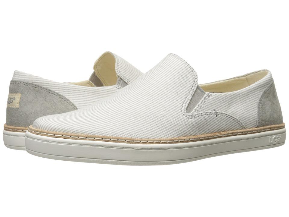 UGG - Adley Stripe (Seal) Women's Flat Shoes